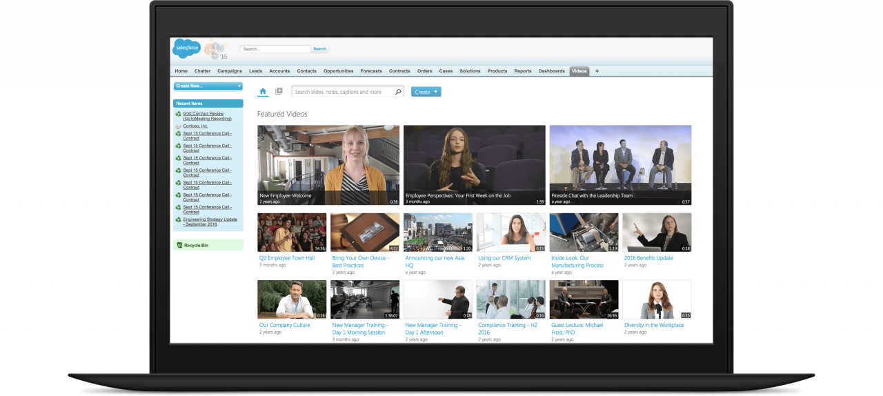 Use video for prospecting, customer communication and sales enablement with Panopto's Salesforce integration