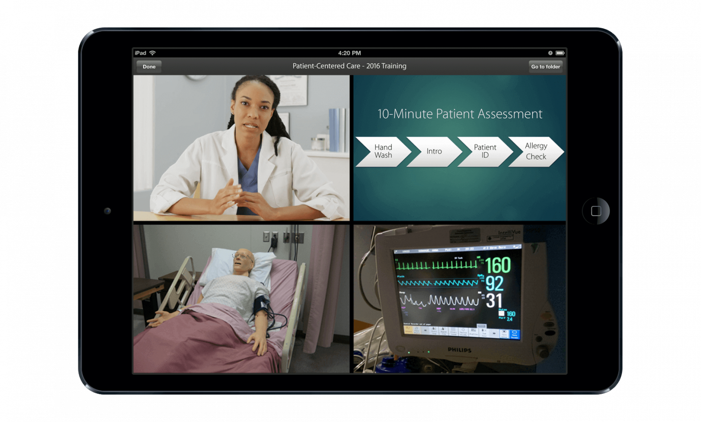 Video clarifies complex information across the healthcare industry