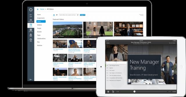Panopto est une plateforme vidéo conçue pour les entreprises et les universités