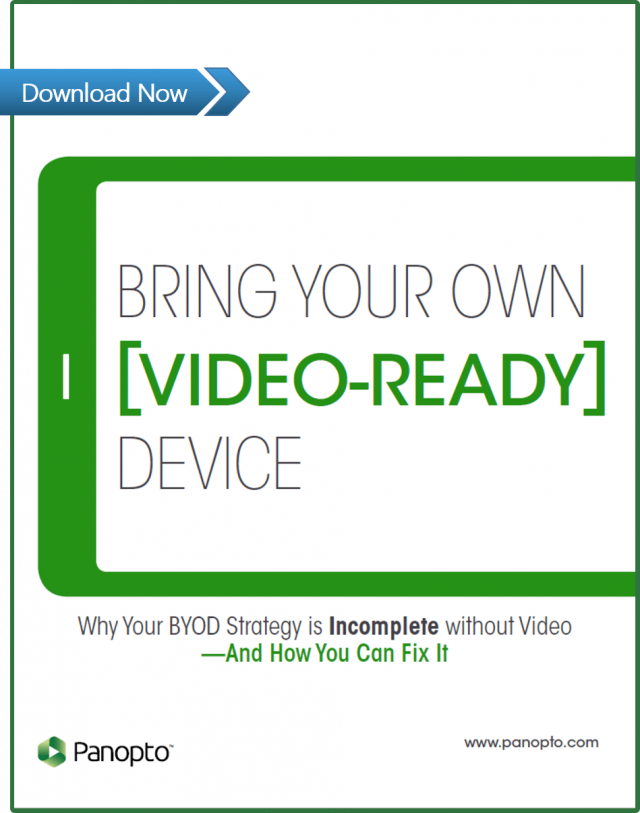 BYOD White Paper - Planning For Video