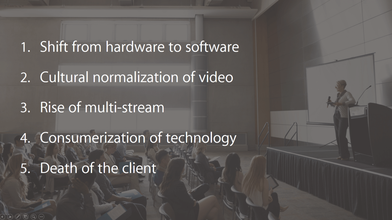 Focus Keynote: 5 Video Technology Trends