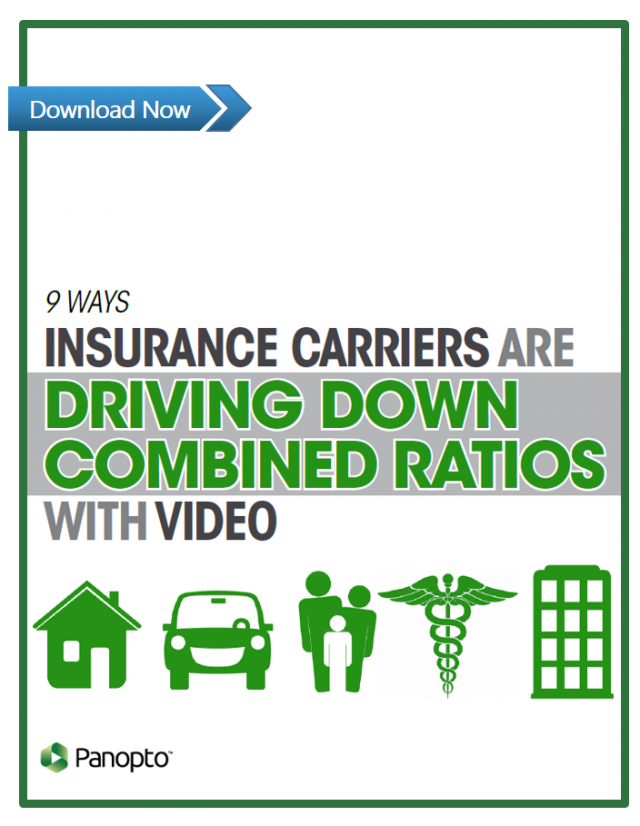Video for Insurance Carriers - Panopto Video Platform