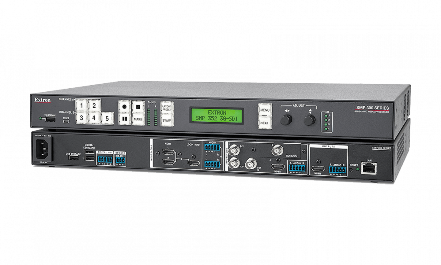Extron SMP integration with Panopto video cloud