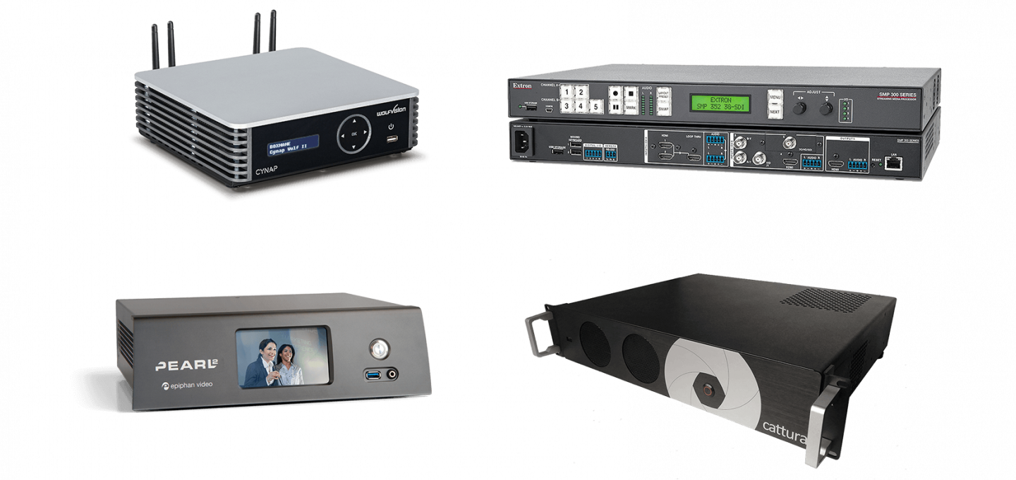 Panopto endorsed video capture appliances