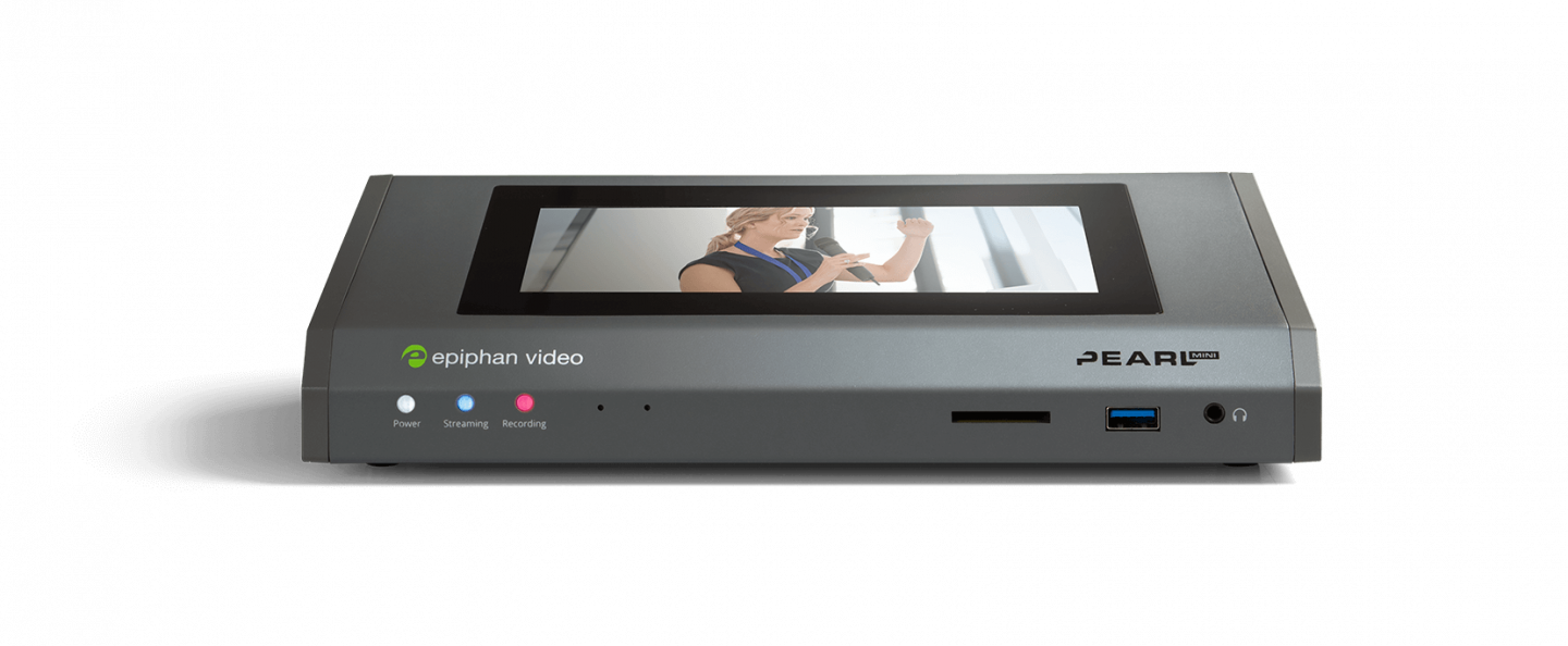 Epiphan Pearl Mini video encoders work flawlessly with Panopto