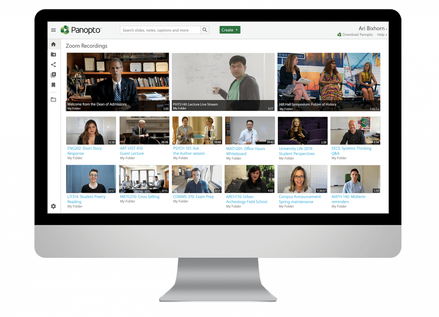 Integrate Panopto's video platform with all your distance learning tools