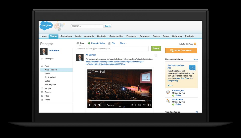 Panopto SharePoint Video Integration