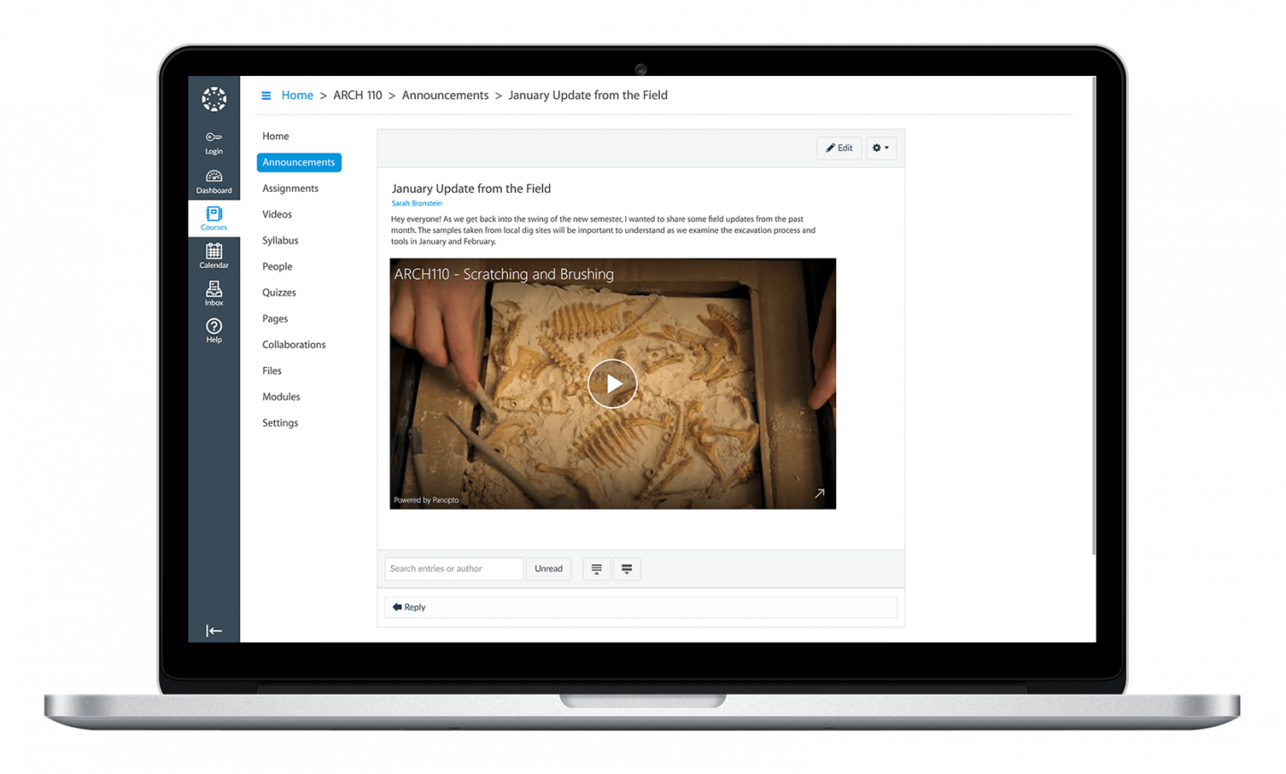 Manage your university's licensed video content with Panopto's campus video platform
