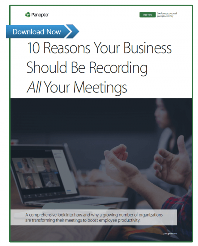 10 Reasons Your Business Should Record Every Meeting