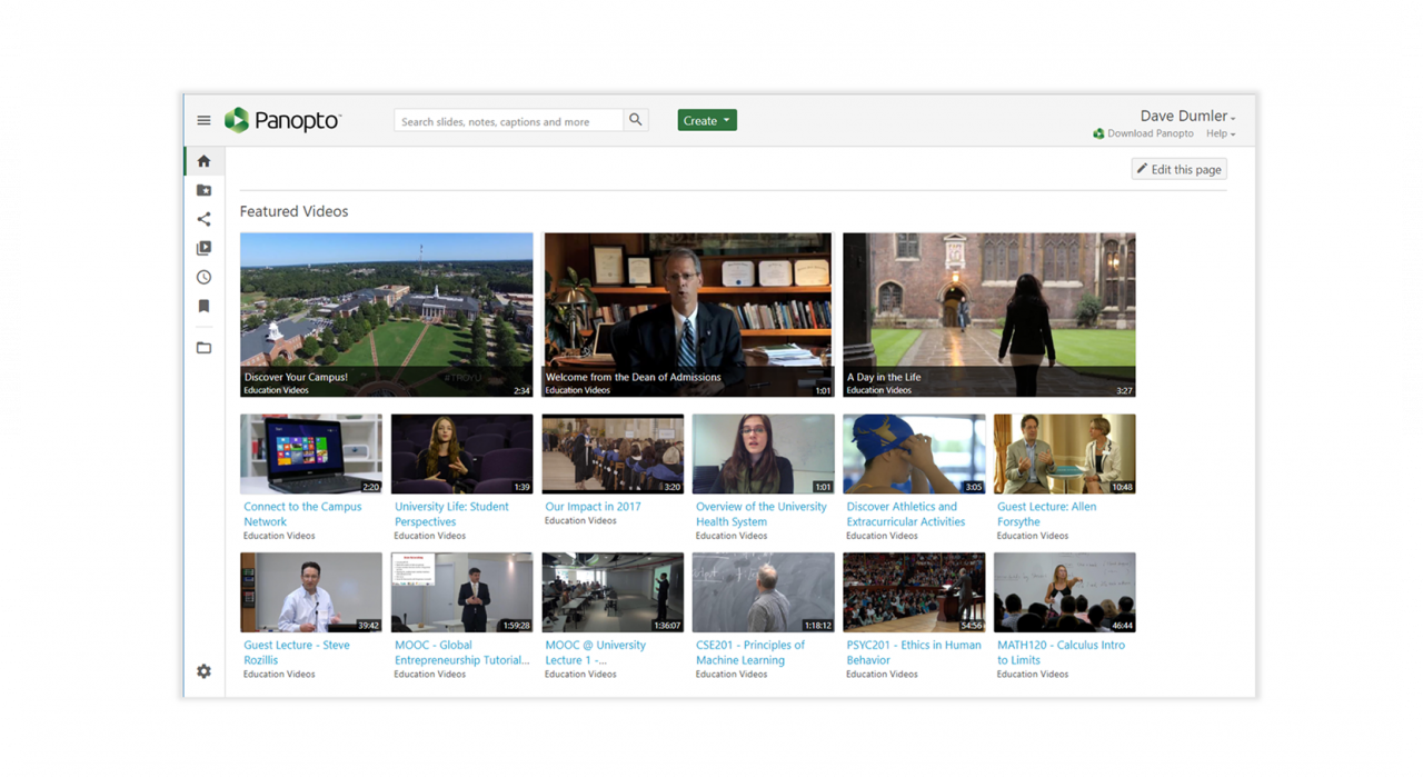 Panopto - best online video platform
