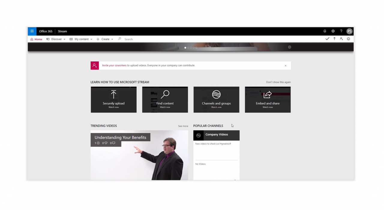 Microsoft Stream - Video Content Management