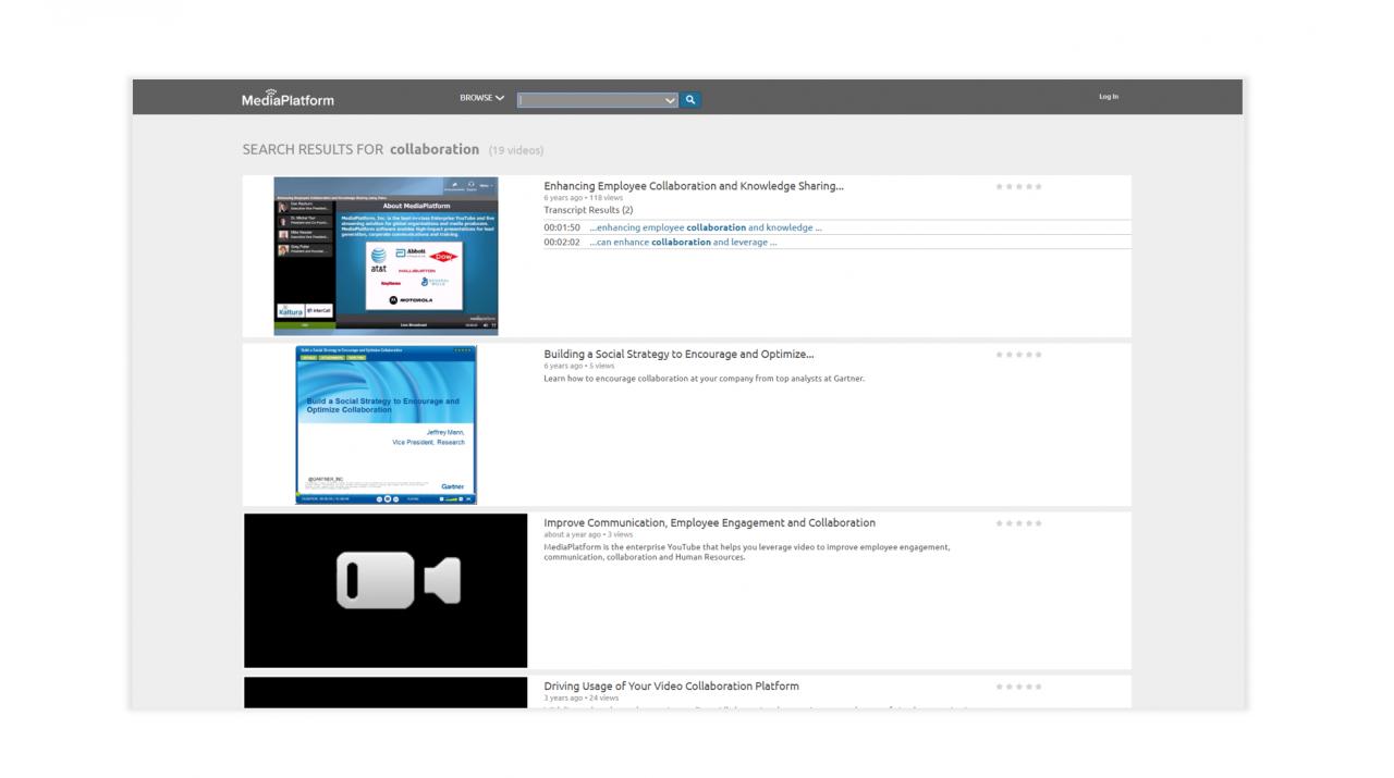 Media Platform - Video Platform