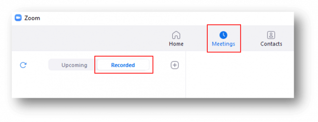 How to share a Zoom local recording