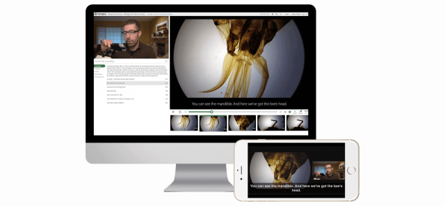 Panopto provides multi-screen and multi-camera screen recording software