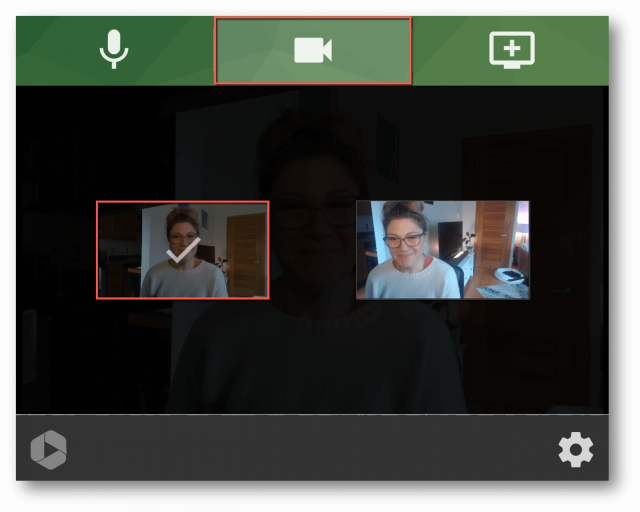 Step 1 to record an online meeting or video conference