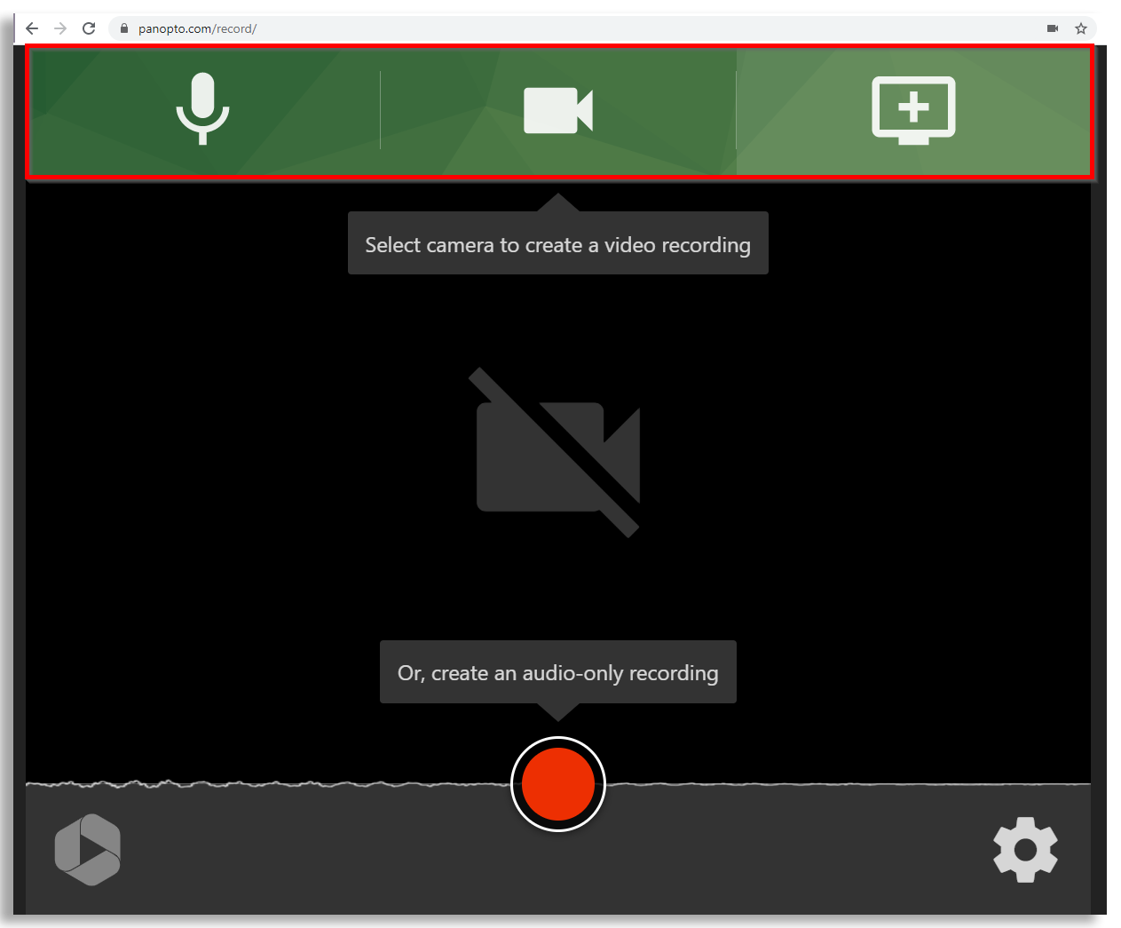 Set up Panopto Express to record your screen, webcam, and more