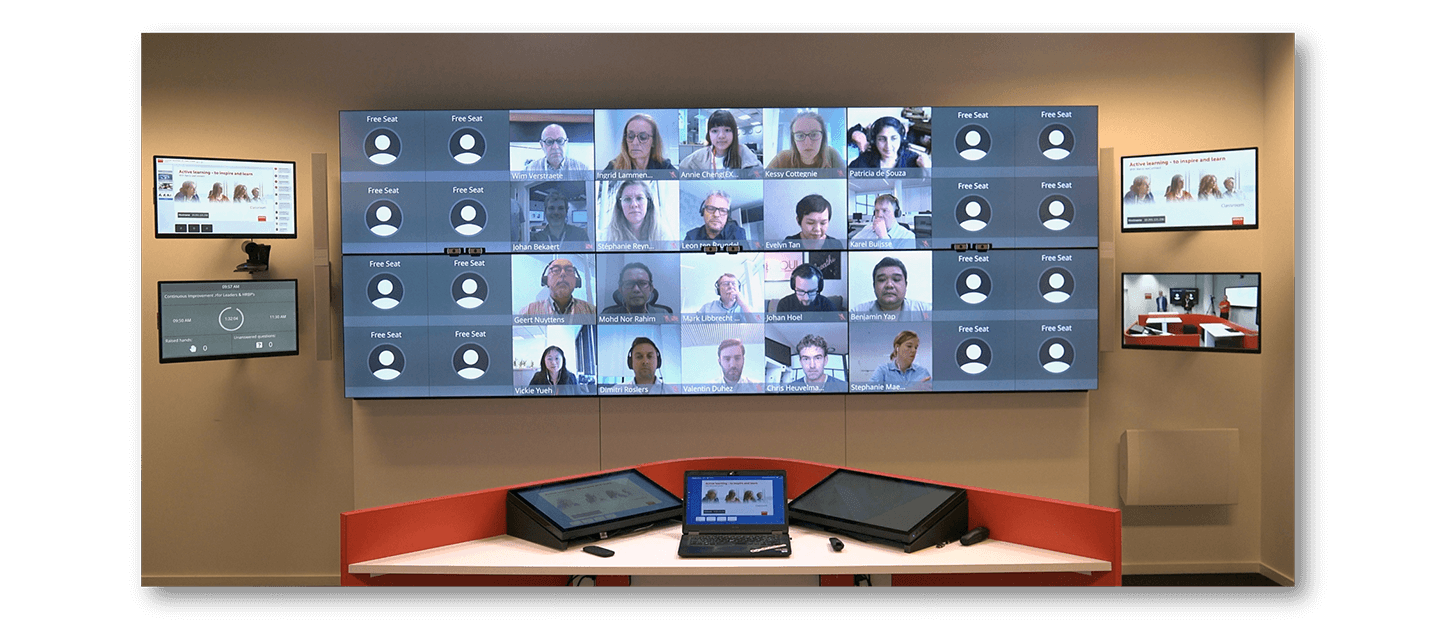 The virtual classroom of the future runs on weConnect and Panopto