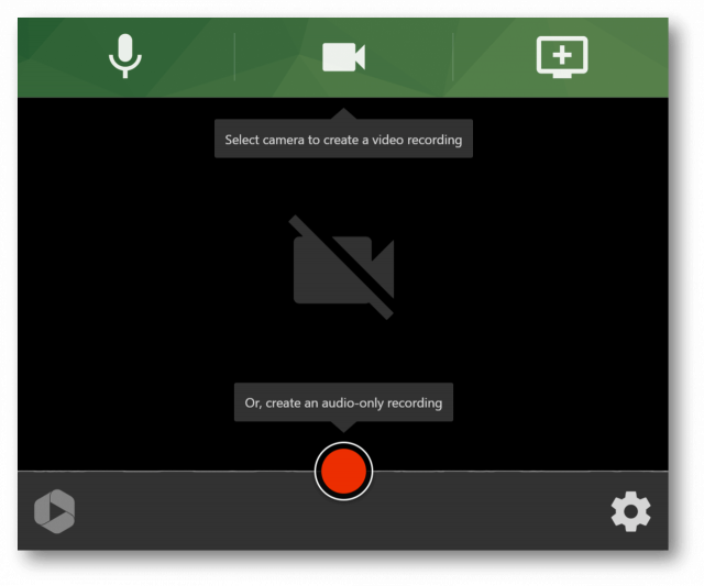 Record and send video messages at work for free with Panopto Express