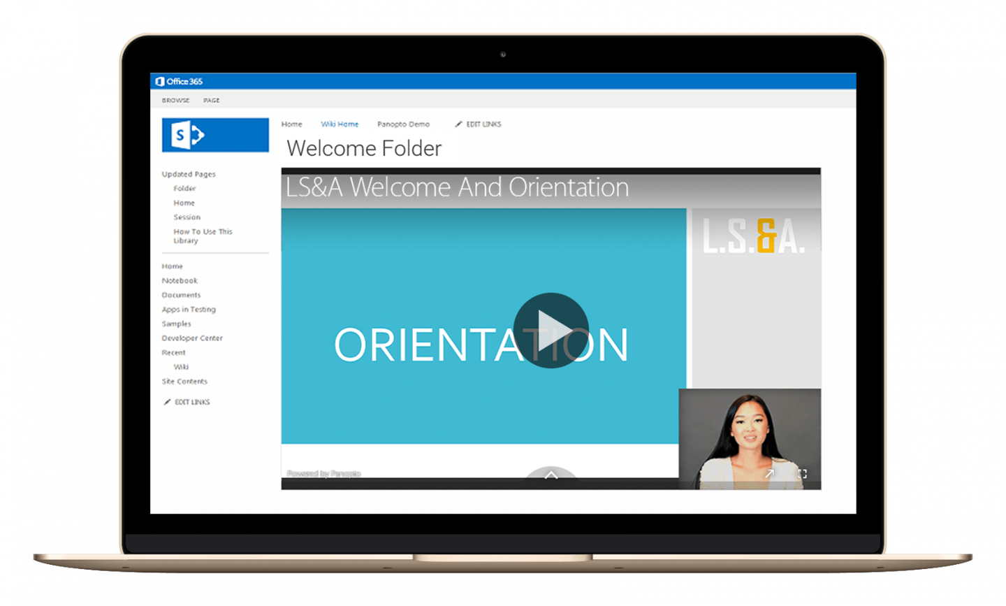 Transform employee onboarding with searchable, on-demand video.